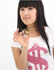 Sweet Silver Color Teapot Pendant Decorated Pure Color Necklace