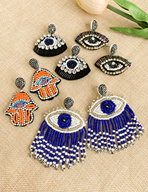 Fashion Color Resin Rhinestone Eye Stud
