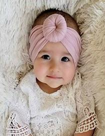 Fashion Toon Purple Ball Nylon Stockings Baby Wide Hair Band