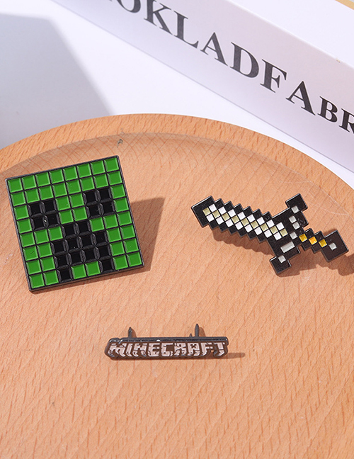 Fashion Green Alloy Paint Hit Color Brooch