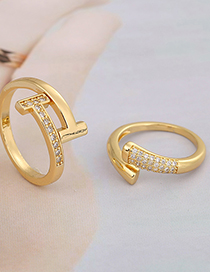 Fashion A T-shaped Open Ring