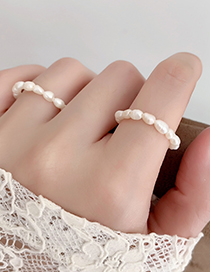 Fashion Pearl Freshwater Pearl Ring