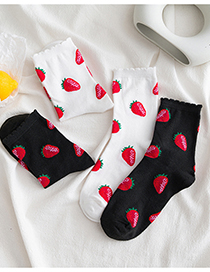 Calcetines Bubble Strawberry Lace