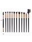 Fashion Black 12-browed Eyebrow Brush