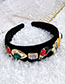 Fashion Insect Alloy Diamond Drop Insect Flannel Headband