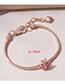 Fashion Rose Gold Chain Bracelet