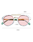 Lovely Pink Round Shape Design Child Ultraviolet Glasses(1-3years Old)