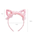 Sweet Light Orange Rabbit Ears Shape Design Hair Hoop