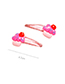 Lovely Red Cherry Shape Design Baby Hair Clip (2pcs)