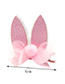Lovely Plum Red Ears Shape Design Child Hair Clip(1pairs)