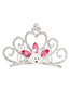 Lovely Purple Crown Shape Design Child Hair Hoop(small)