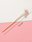 Sweet Beige Pearl&heart Shape Decorated Hairpin