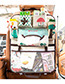 Fashion Beige Cartoon Patterns Decorated Storage Bag