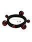 Fashion White Bead Decorated Pure Color Hair Band