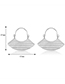 Fashion Silver Color Geometric Shape Decorated Earrings