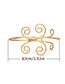 Fashion Silver Color Butterfly Shape Decorated Opening Bracelet