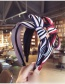 Fashion Red Stripe Pattern Decorated Hairband