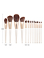 Fashion White 13 Sticks - Makeup Brush