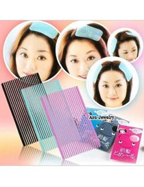 Indian Random Color Fixed Bang Design Plastic Hair band hair hoop