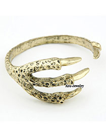 Japanese Gold Color Eagle Claw Alloy Fashion Bangles
