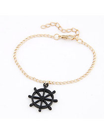 Display Black Windmills Shape Alloy Korean Fashion Bracelet