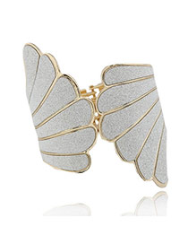 Kinetic Champagne Champagne Wings Alloy Fashion Bangles