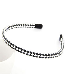 Exquisite Picture Color Fluorescence Weave Design Leather Hair band hair hoop