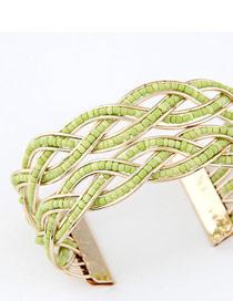Vintage Light Green Bohemia Beads Style