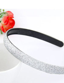 Musical Silver Color Blink Abrazine Design Plastic Hair band hair hoop