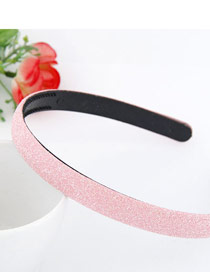 Detachable Pink Blink Abrazine Design Plastic Hair band hair hoop