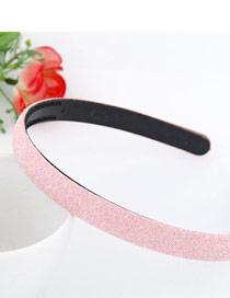 Detachable Pink Blink Abrazine Design Plastic Hair band hair hoop