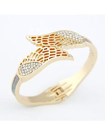 Baptism Multicolor Blink Wings Design Alloy Fashion Bangles