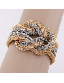 Rolling Picture Color Simple Chain Weave Design
