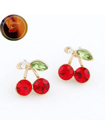 Memorable Red Cherry Shape Design