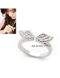 Micro Silver Color Wings