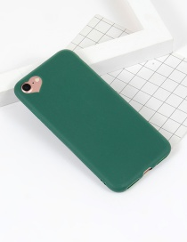 Fashion Green Heart Shape Decorated Simple Iphone7 Case