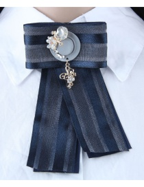 Fashion Navy Cap Shape Decorated Brooch