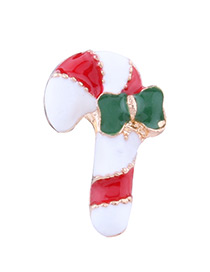 Lovely Multi-color Crutch Shape Decorated Ear Clip