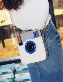 Fashion White Camera Shape Decorated Shoulder Bag Reviews