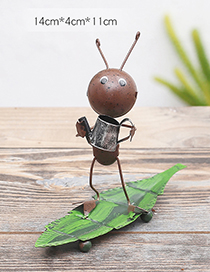 Lovely Brown Ant&watering Pot Design Simple Handicrafts