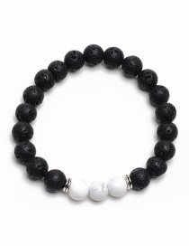 Fashion White Color-matching Decorated Bracelet