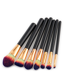 Fashion Purple Color-macthing Decorated Brushes