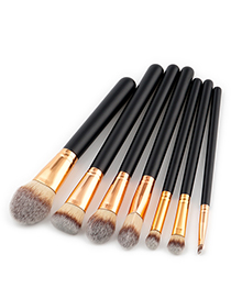 Fashion Gray Color-macthing Decorated Brushes