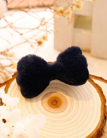 Lovely Navy Bowknot Shape Decorated Hairpin