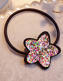 Fashion Multi-color Star Shape Decorated Hair Band