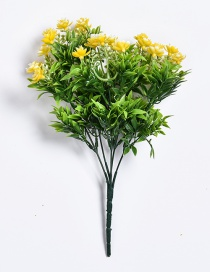 Lovely Yellow Gardenia Decorated Ornament