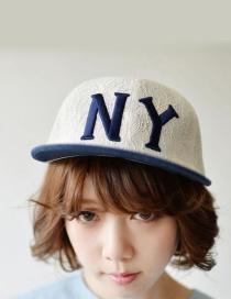 Fashion White Lace Shape Decorated Hat