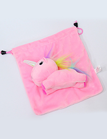 Lovely Pink Cartoon Unicorn Design Cosmetic Bag(or Wallet)