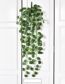 Fashion Green Begonia Rattan Decorated Ornament