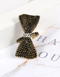 Fashion Gold Color Bowknot Shape Decorated Ring